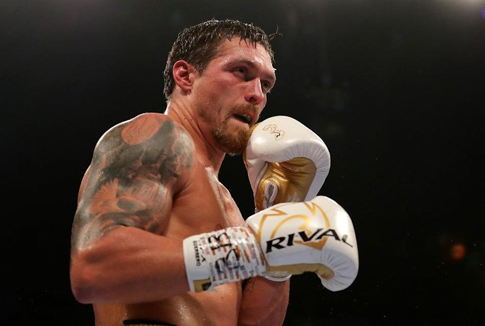 Oleksandr Usyk has been thinking of home ahead of his fight against Anthony Joshua   (Getty Images)