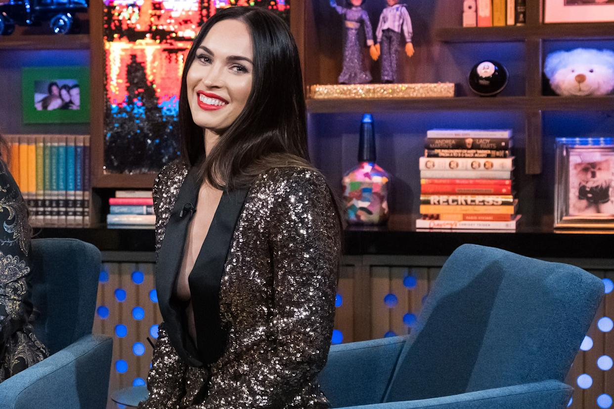 """Megan Fox during an appearance on """"Watch What Happens Live With Andy Cohen."""" (Photo: Bravo via Getty Images)"""
