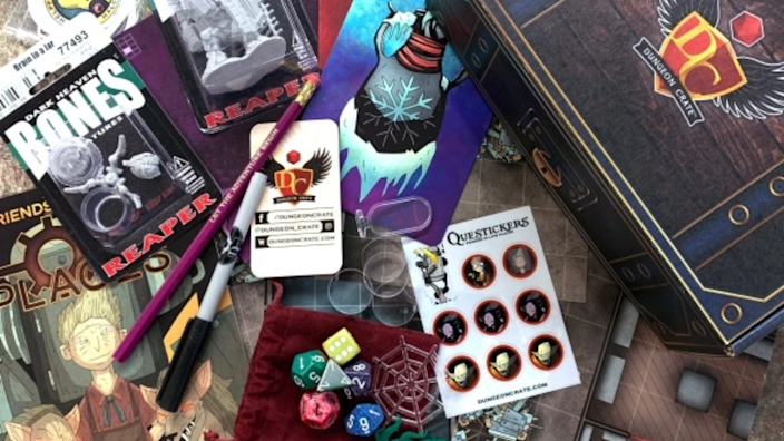 Best subscription gifts: Dungeon Crate