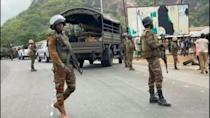 Soldiers on ground in central Benin as 1 killed in pre-vote protests