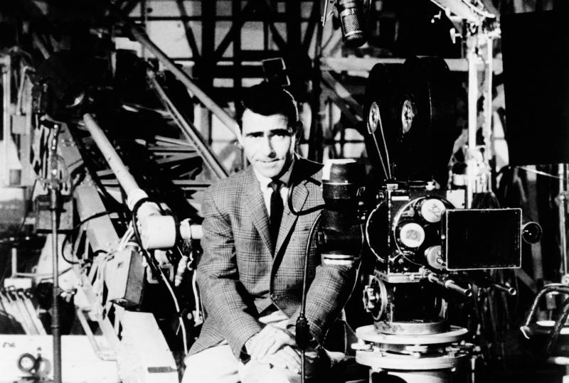 Rod Serling made television history with 'The Twilight Zone' (Photo: Everett Collection)