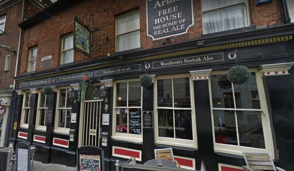 The Murderers pub in Norwich. (Google Images)