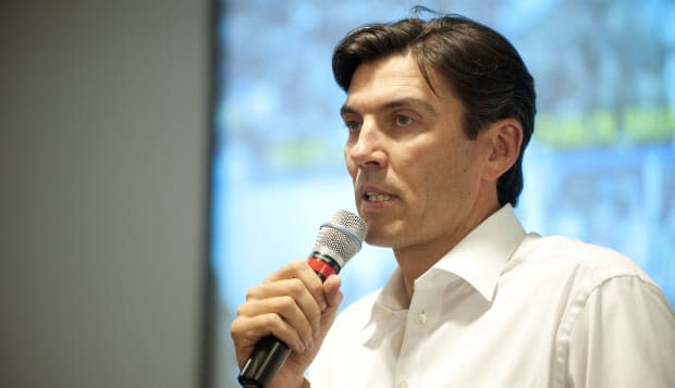 Tim Armstrong, Chairman and CEO of AOL announces to AOL employees during a Technology All Hands that Curtis Brown will be the ne