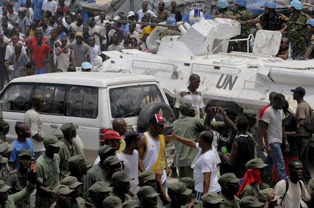 UN peacekeepers' alleged abuse in Haiti