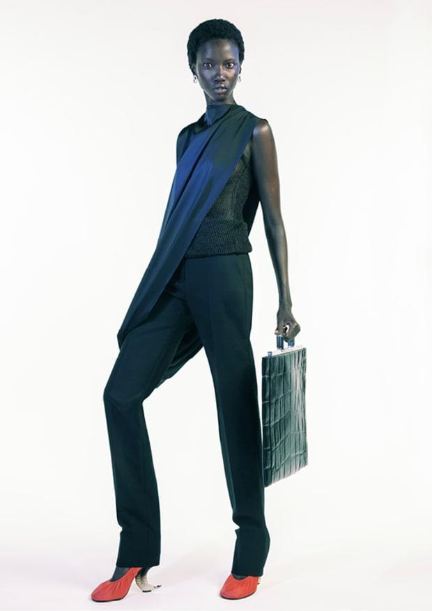 <p>A look from Givenchy's Spring 2021 collection. Photo: Courtesy of Givenchy</p>