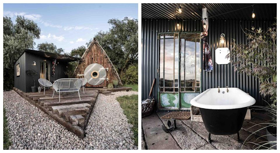The Unique Glamping Hut in Sutton is one of Airbnb's most wish-listed destinations in the UK(Airbnb)