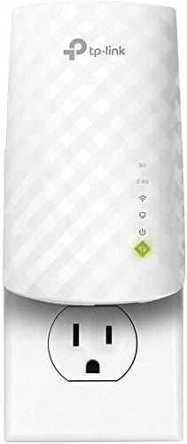 TP-Link AC750 WiFi Extender (RE220), Covers Up to 1200 Sq.ft and 20 Devices, Up to 750Mbps Dual…