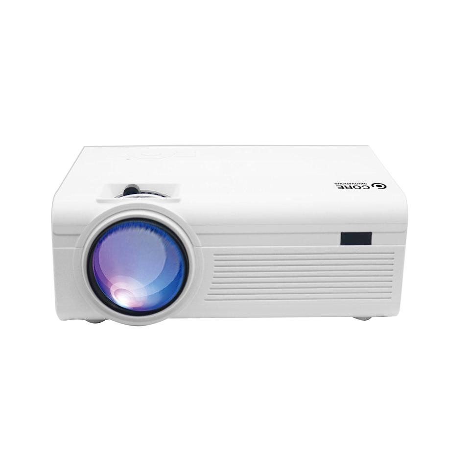 """<p><span>Core Innovations 150"""" LCD Home Theater Projector</span> ($40, originally $89)</p>"""