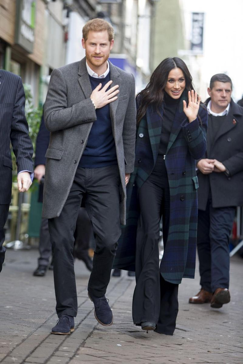 This was Meghan's first trip to Scotland. Photo: Getty Images