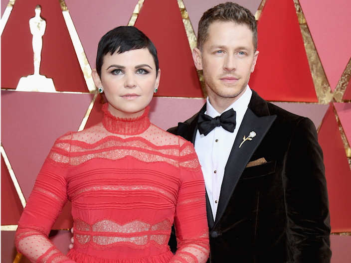 Ginnifer Goodwin Josh Dallas (Once Upon A Time) Oscars