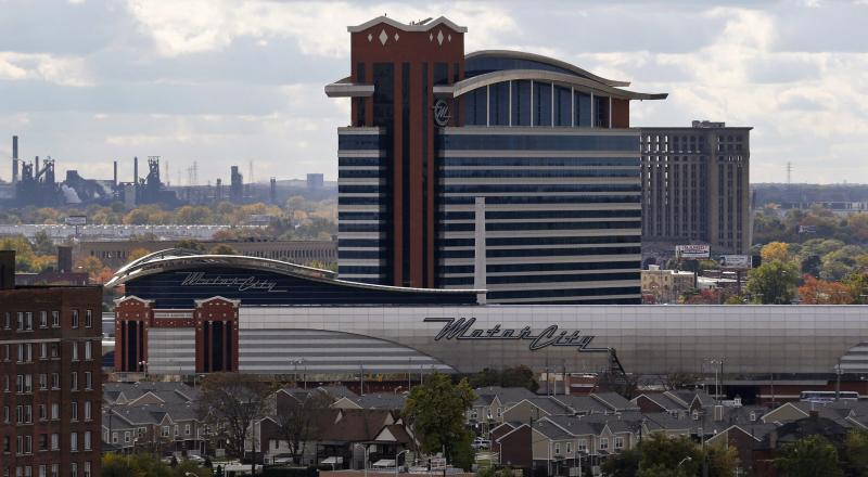 Analysis gambling revenue at heart of detroit 39 s dilemmas for Motor city casino hotels