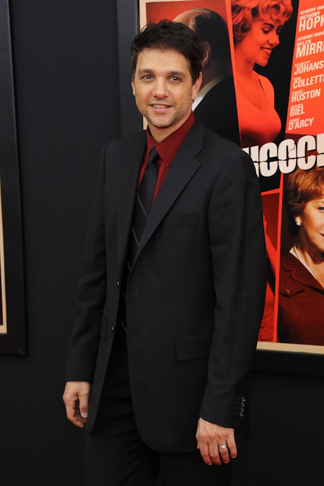 """NEW YORK, NY - NOVEMBER 18:  Actor Ralph Macchio attends the """"Hitchcock"""" New York Premiere at Ziegfeld Theater on November 18, 2012 in New York City.  (Photo by Neilson Barnard/Getty Images)"""