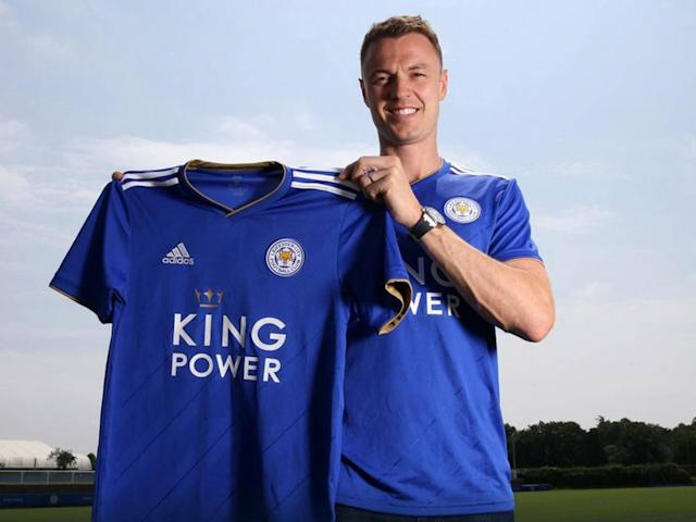 Jonny Evans joins Leicester: West Brom sell defender in £3.5m deal after relegation release clause triggered