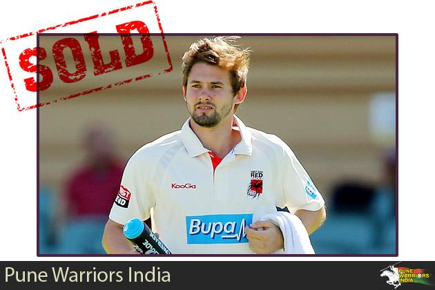 Kane Richardson goes to the Pune Warriors for $700,000