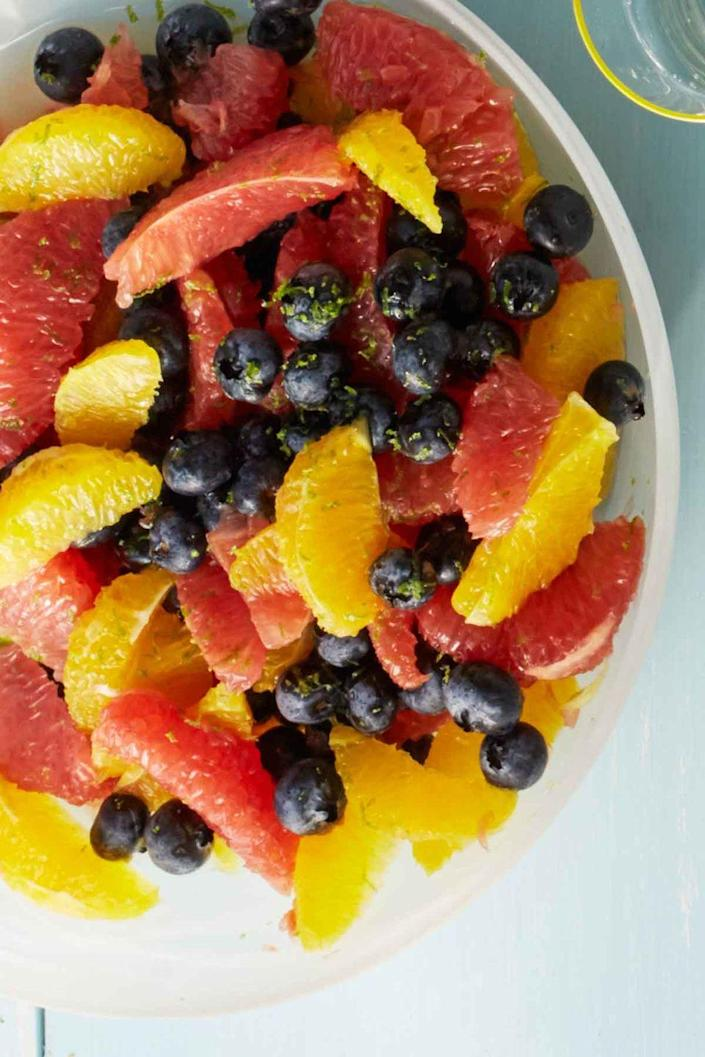 """<p>Get your salad fix with this sweet and healthy citrus dish.</p><p><strong><em><a href=""""https://www.womansday.com/food-recipes/food-drinks/recipes/a53600/citrus-salad/"""" rel=""""nofollow noopener"""" target=""""_blank"""" data-ylk=""""slk:Get the Citrus Salad recipe"""" class=""""link rapid-noclick-resp"""">Get the Citrus Salad recipe</a>.</em></strong></p>"""
