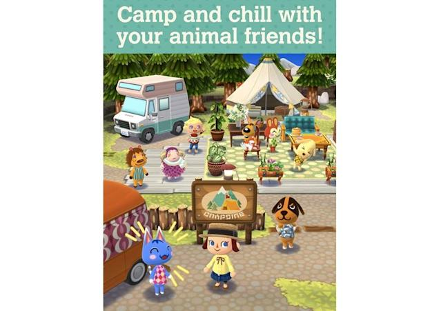 'Animal Crossing: Pocket Camp' is a hit, especially with adult women gamers.