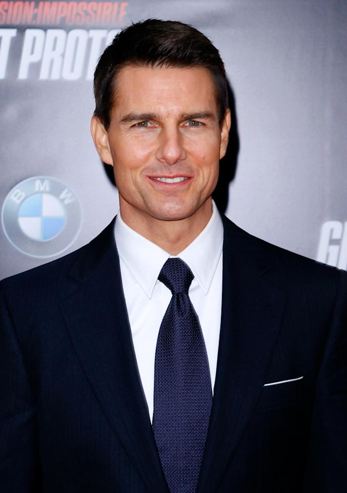 "Celebrity name: Tom Cruise:  Birth name: Thomas Cruise Mapother IV The star of ""Mission: Impossible – Ghost Protocol"" surely could not get away with that mouthful, which comes from his great-grandfather."