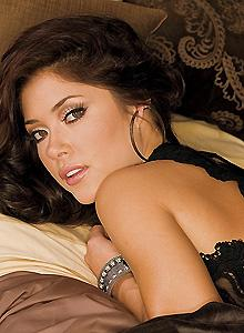 Octagon girl Arianny Celeste's popularity is only going to increase when the next issue of Playboy hits the stands