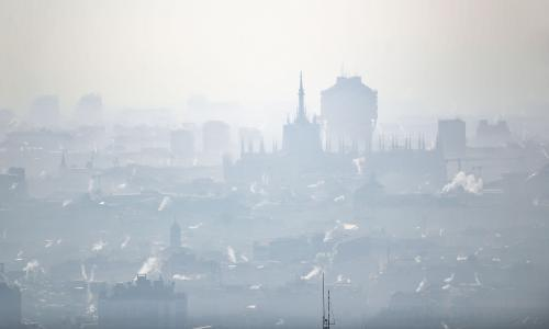 Air pollution linked to far higher Covid-19 death rates, study finds
