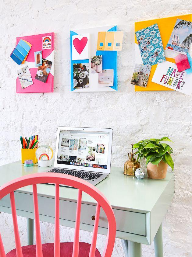 """<p>Pinterest is cool, but we're bringing the real thing back with actual mood boards. Get the tutorial at <a href=""""https://thecraftedlife.com/diy-colorful-canvas-pin-boards/"""" target=""""_blank"""">The Crafted Life</a>.</p><p><a class=""""body-btn-link"""" href=""""https://www.amazon.com/CONDA-Artist-Stretched-Canvas-Pack/dp/B01IBRF25G?tag=syn-yahoo-20&ascsubtag=%5Bartid%7C10057.g.21285544%5Bsrc%7Cyahoo-us"""" target=""""_blank"""">BUY NOW</a> <strong><em>Stretched Canvas, $16 </em></strong></p>"""