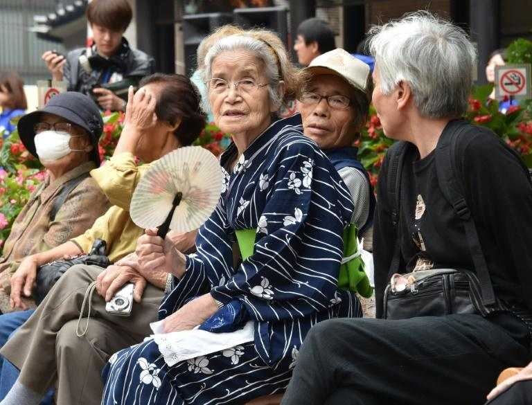 Japan is known for the longevity of its people with around 68,000 people aged 100 or older in the country, the government said last year