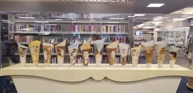 Mah's work is featured in art spaces all over the world, from Nouveau Gallery in Regina, to Willock and Sax in Banff, to Jonathon's in London, Ontario. Here it is in  RPL: Dunlop Art Gallery Collection at George Bothwell Library. (Submitted by Jeannie Mah - image credit)
