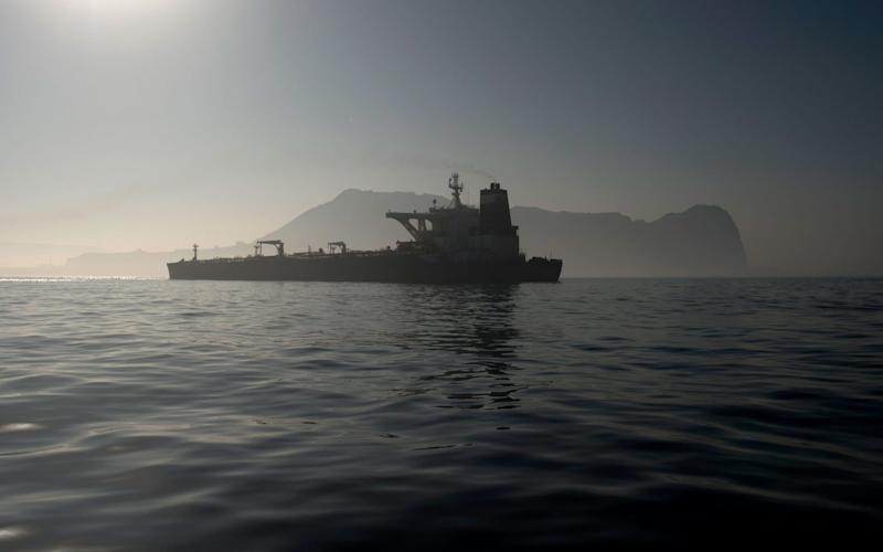 The Grace 1 Iranian tanker is due to set sail on Sunday night - AFP