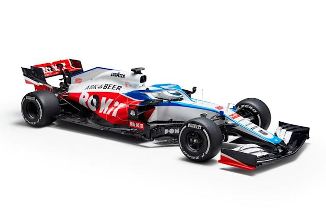 "2020: Williams-Mercedes FW43 <span class=""copyright"">Williams F1</span>"