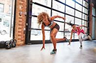 """<p>If you're trying to lose a couple of pounds, stepping up your current workout routine may be all that it takes. And since time is of the essence, nothing gets results like sweat-inducing total-body <a href=""""https://www.popsugar.com/fitness/What-HIIT-41008781"""" class=""""link rapid-noclick-resp"""" rel=""""nofollow noopener"""" target=""""_blank"""" data-ylk=""""slk:HIIT workouts"""">HIIT workouts</a>, which can torch more calories in less time. Check out our list of <a href=""""https://www.popsugar.com/fitness/hiit-home-workouts-47311207"""" class=""""link rapid-noclick-resp"""" rel=""""nofollow noopener"""" target=""""_blank"""" data-ylk=""""slk:HIIT workouts"""">HIIT workouts</a> that'll be sure to blast calories fast. </p>"""