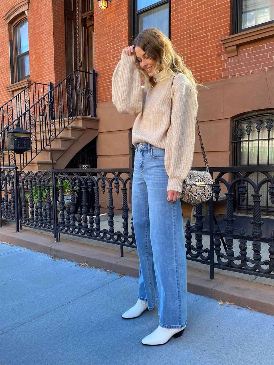 It S Official These Are The Best Denim And Boots Outfits We Ve Seen This Fall