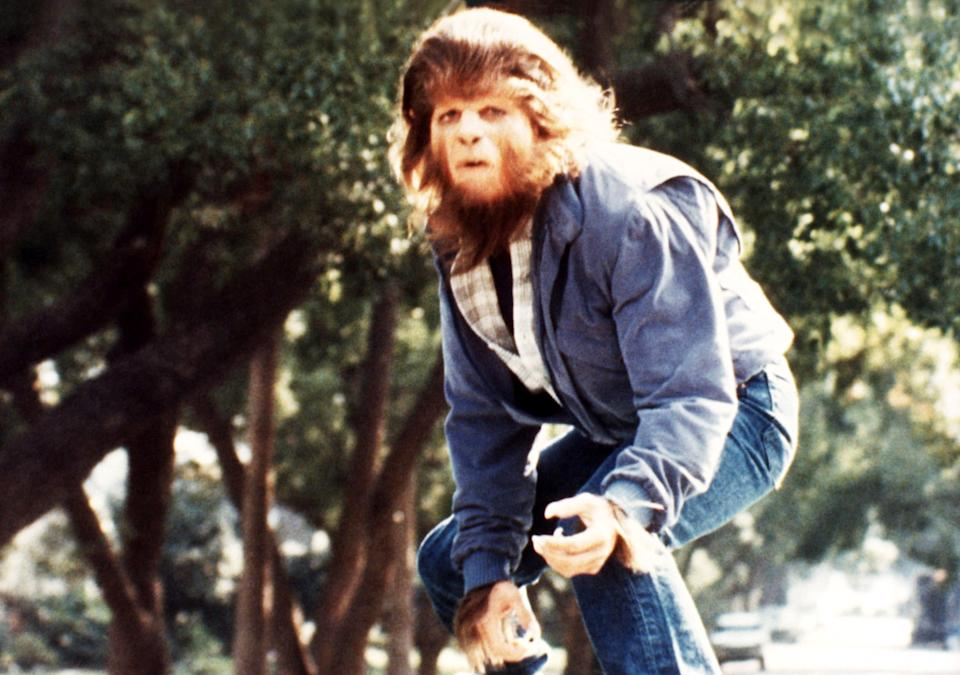 Fox goes van surfing in <em>Teen Wolf</em>. (Photo: MGM/courtesy Everett Collection)