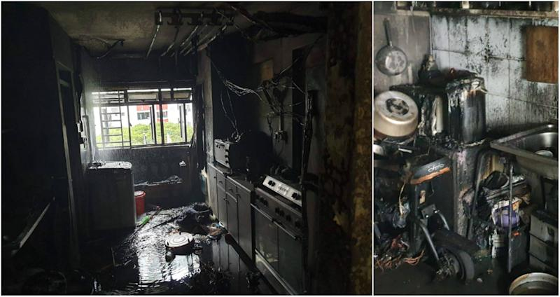 (PHOTOS: SCDF/Yahoo News Singapore)