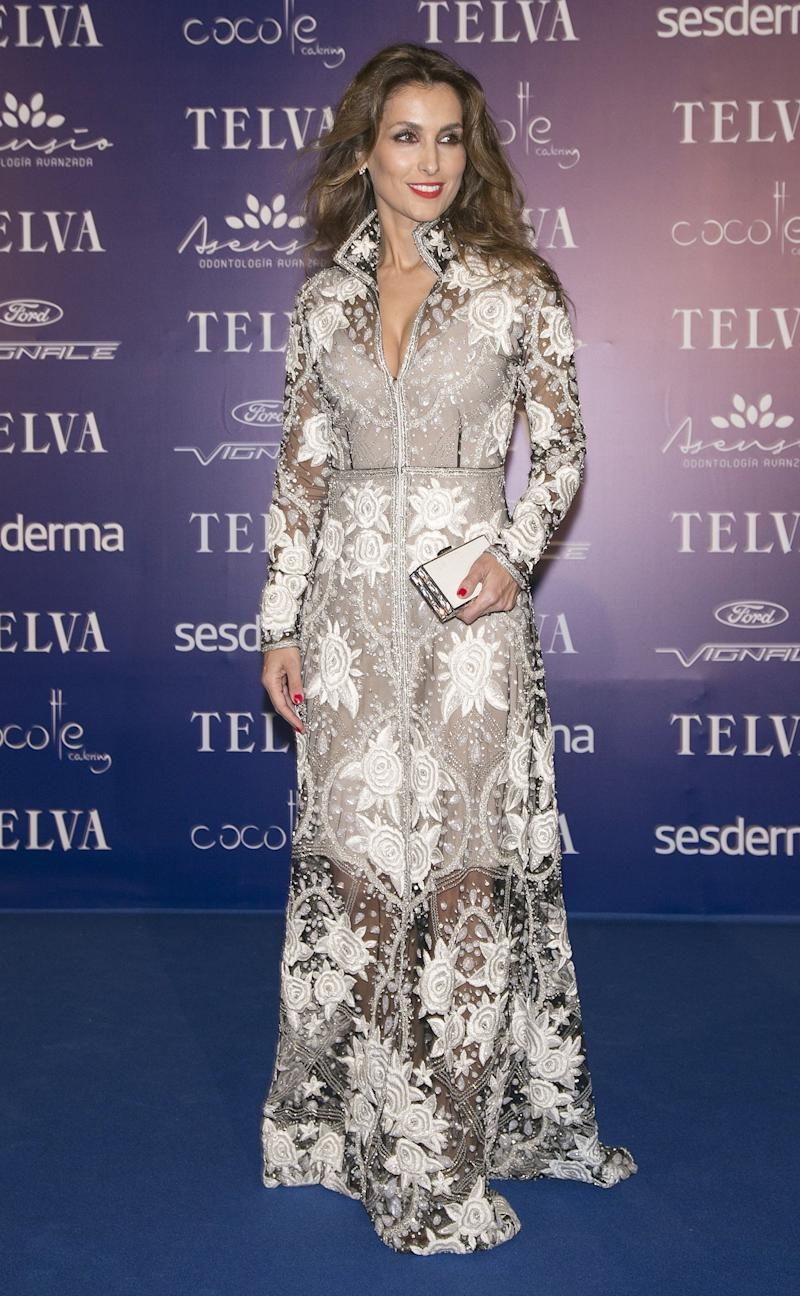 VALENCIA, SPAIN - OCTOBER 15: Paloma Cuevas attends Arts, Sciences and Sports Telva Awards 2015 at Palau de Les Arts Reina Sofia on October 15, 2015 in Valencia, Spain. (Photo by Europa Press/Europa Press via Getty Images)