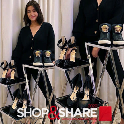 Liza Soberano auctioned her many pairs of shoes