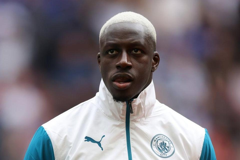 Man City have suspended Mendy pending an investigation  (The FA via Getty Images)