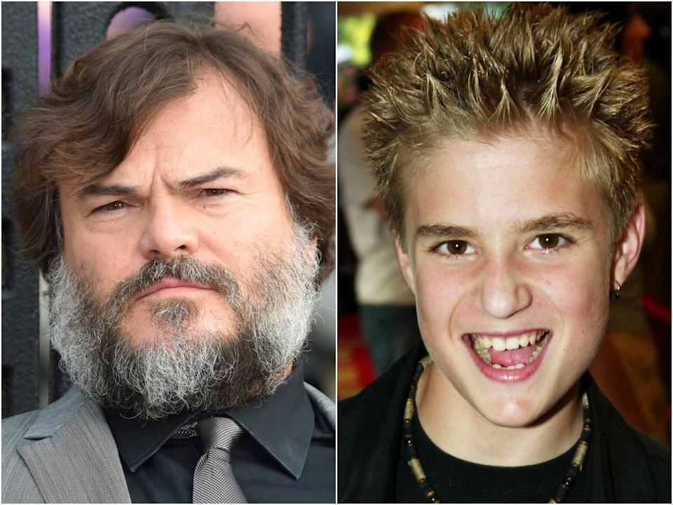 <p>Jack Black and Kevin Clark</p> (Getty)