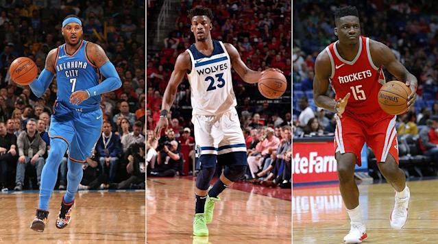What's next for Clint Capela after a dried up market? Will Carmelo finally make a sacrifice? The Crossover answers lingering questions in NBA free agency.