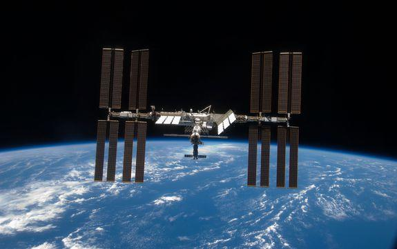 NASA astronauts install power upgrade on ISS