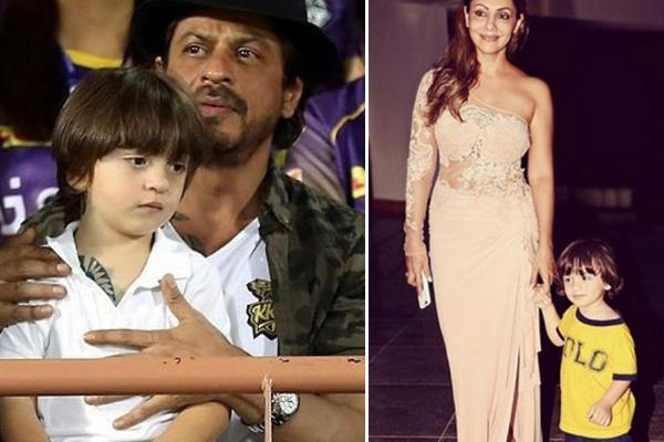 Celeb Kids, Shah Rukh Khan and Gauri Khan