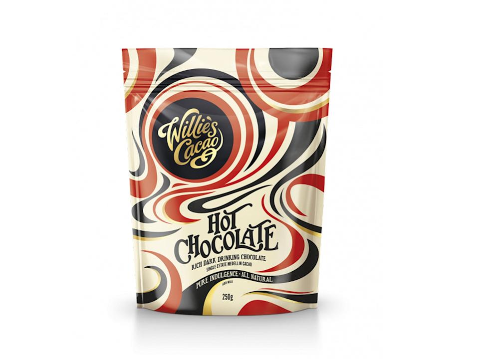 <p>This is some of the finest hot chocolate around</p>Willie's Cacao