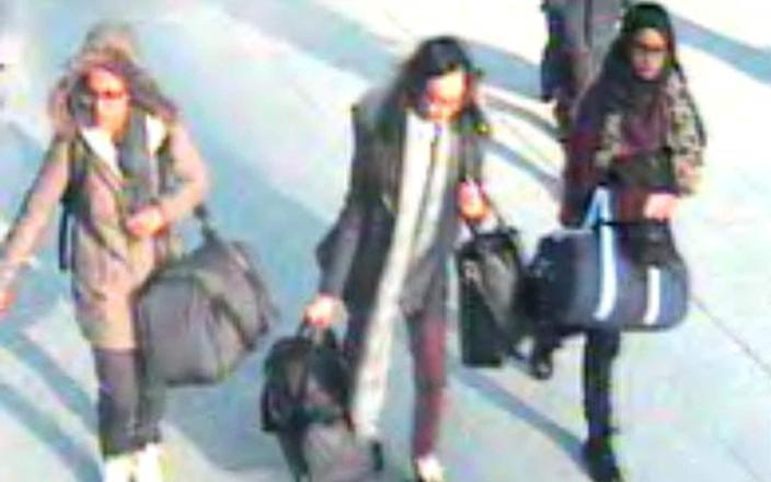 Shamima Begum fled the UK to join ISIL with two other schoolgirls in 2015 - AFP