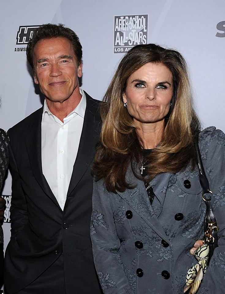 We're guessing you've heard about this breakup. In one of the biggest stories of the year, Maria Shriver filed for divorce from actor and former governor Arnold Schwarzenegger over the summer after learning that her husband of 25 years had fathered a child with a member of their household staff. The couple has four children together.