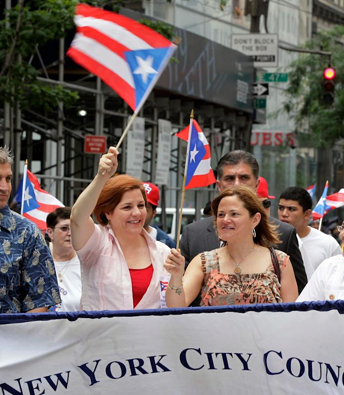 "Many Puerto Ricans who favor statehood already live in U.S. states. Puerto Ricans received citizenship, along with military conscription, in 1917. Today, some <a href=""http://www.pewhispanic.org/2011/06/13/a-demographic-portrait-of-puerto-ricans/"" rel=""nofollow noopener"" target=""_blank"" data-ylk=""slk:4.6 million people of Puerto Rican origin live"" class=""link rapid-noclick-resp"">4.6 million people of Puerto Rican origin live</a> in the United States, compared to 3.7 million on the island, according to the Pew Hispanic Center. In the words of historian Angel Collado-Schwartz, ""Statehood is available to all Puerto Ricans -- you have 50 states to move to."""