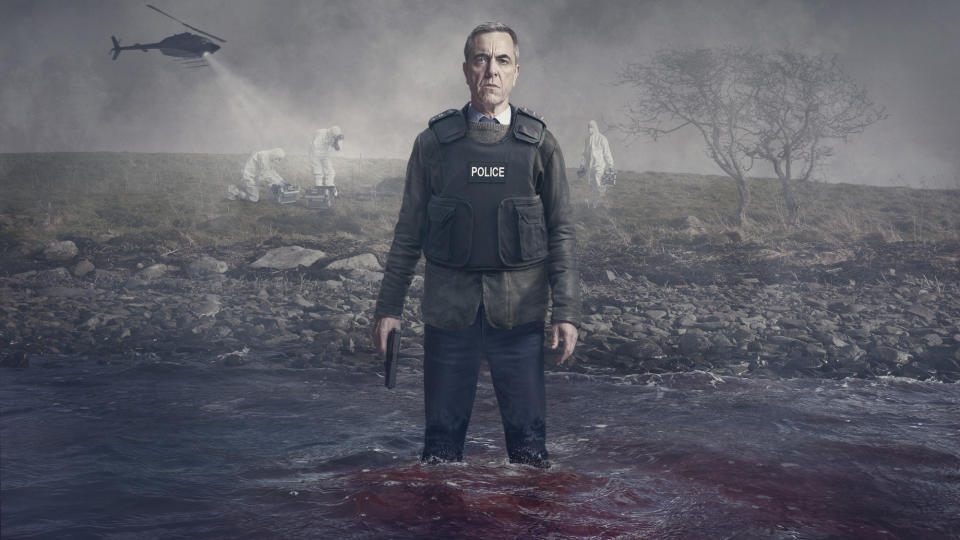 Bloodlands - Picture Shows:  Tom Brannick (James Nesbitt) - (HTM Television /iStock/Steffan Hill)