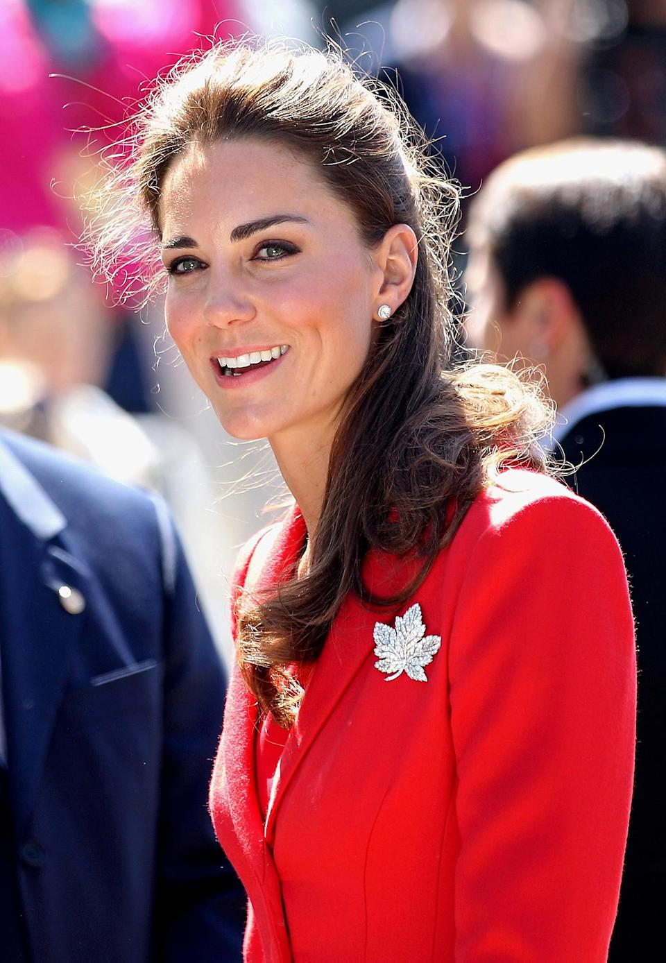 <p>The Maple Leaf brooch is another piece worn by multiple royal women over the years, including Kate, Camilla, the Queen and the Queen Mother — often (appropriately!) during their visits to the Commonwealth country of Canada.</p>