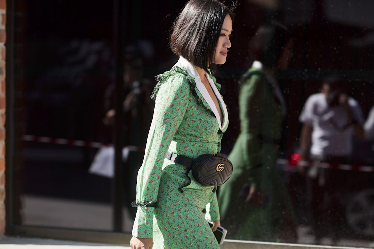<p>Gucci, Gucci everywhere and prints for days. Milan is where people dare to be bigger and bolder in their everyday wear. We're charting the best looks outside Prada, Gucci and all the big MFW shows.</p>