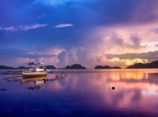 <p>Remote and sparsely populated, Palawan just might be the most beautiful island in the world. It's basically a long sliver of villages surrounded by crystal-clear water, lagoons and lush forest.</p>