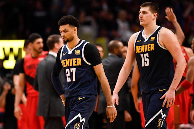 This loss will sit with the Nuggets. (Getty)