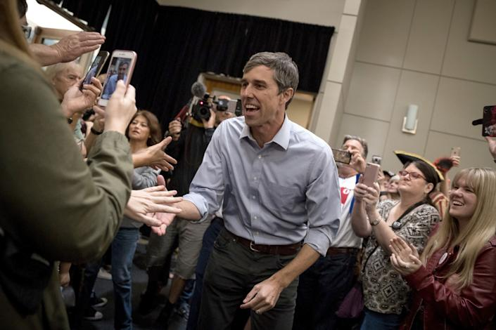 """In explaining its endorsement of Beto O'Rourke for Senate in Texas, The Dallas Morning News editorial board said he had run """"a campaign that's based on unifying communities."""" (Photo: Loren Elliott via Getty Images)"""