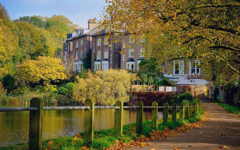 See autumn arrive in London's most scenic spots - getty
